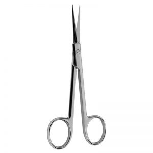 Brown Dissecting Scissors Heavy Handle